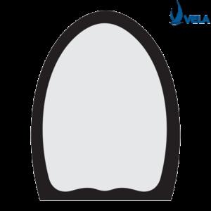 Gương 2 Lớp Bầu Dục VG 6B