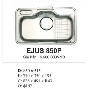 Chậu Rửa Bát Hàn Quốc 1 Hố Ecofa EJUS 850P