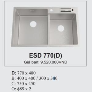Chậu Rửa Bát Hàn Quốc Ecofa ESD 770D