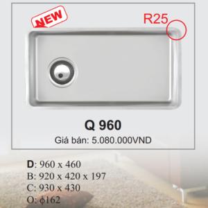 Chậu Rửa Chén Bát Nhập Khẩu Ecofa Q 960