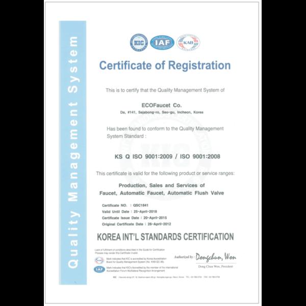 Sen Tắm Đứng Hàn Quốc Ecofa E 864